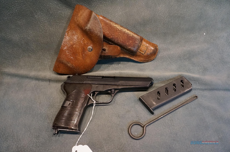 CZ 52 7.62x25 Tokarev w/holster and extra magazine  Guns > Pistols > Military Misc. Pistols Non-US
