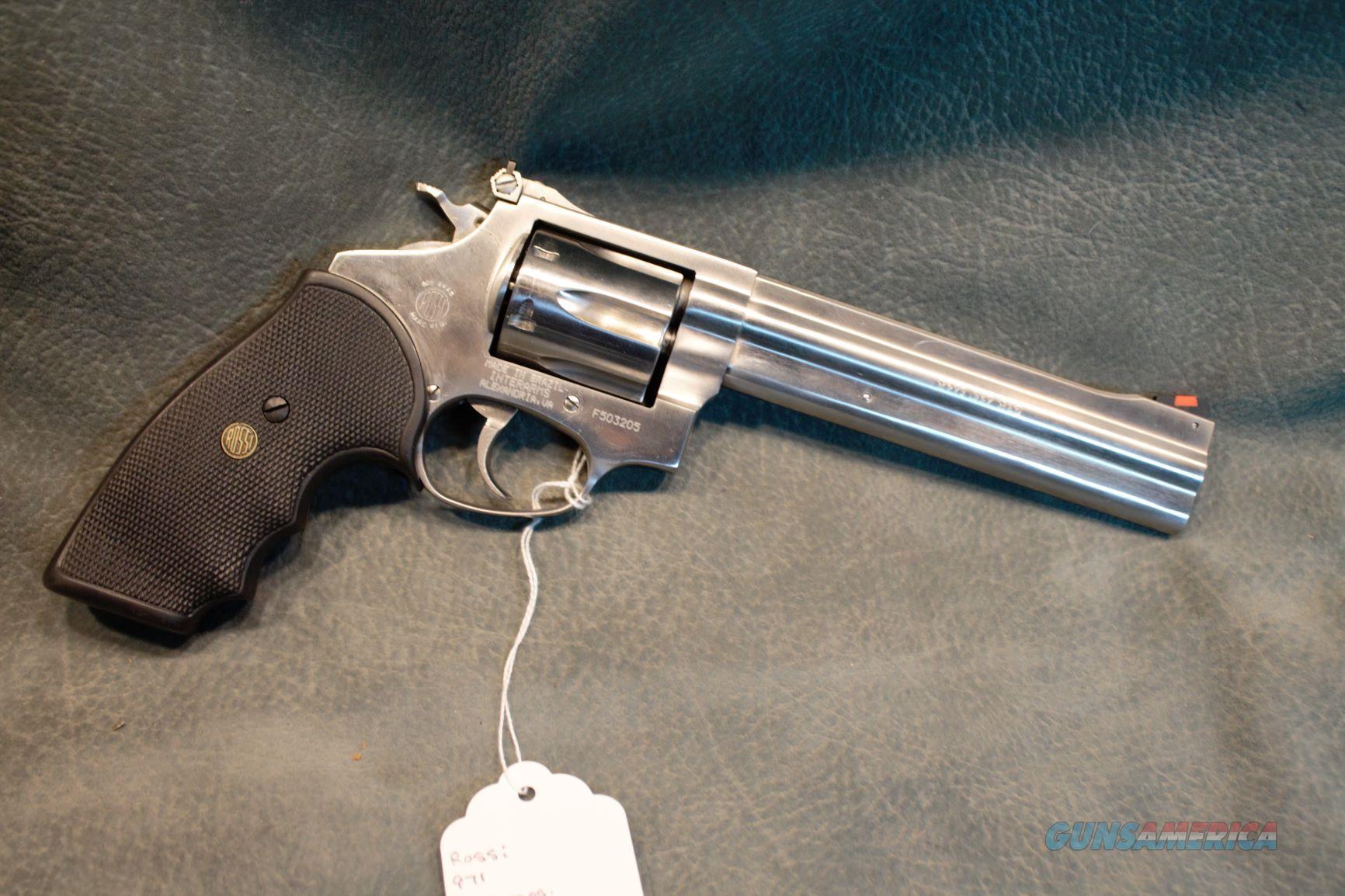 Rossi 971 357 Magnum  Guns > Pistols > Rossi Revolvers