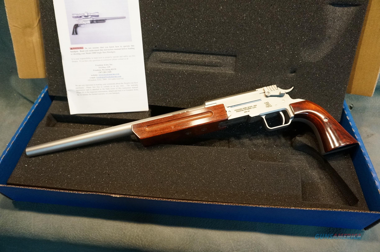 "Freedom Arms 2008 223 Single Shot 15"" NIB  Guns > Pistols > Freedom Arms Pistols"