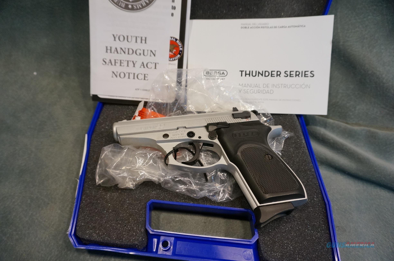 Bersa Thunder 22LR NIB  Guns > Pistols > Bersa Pistols