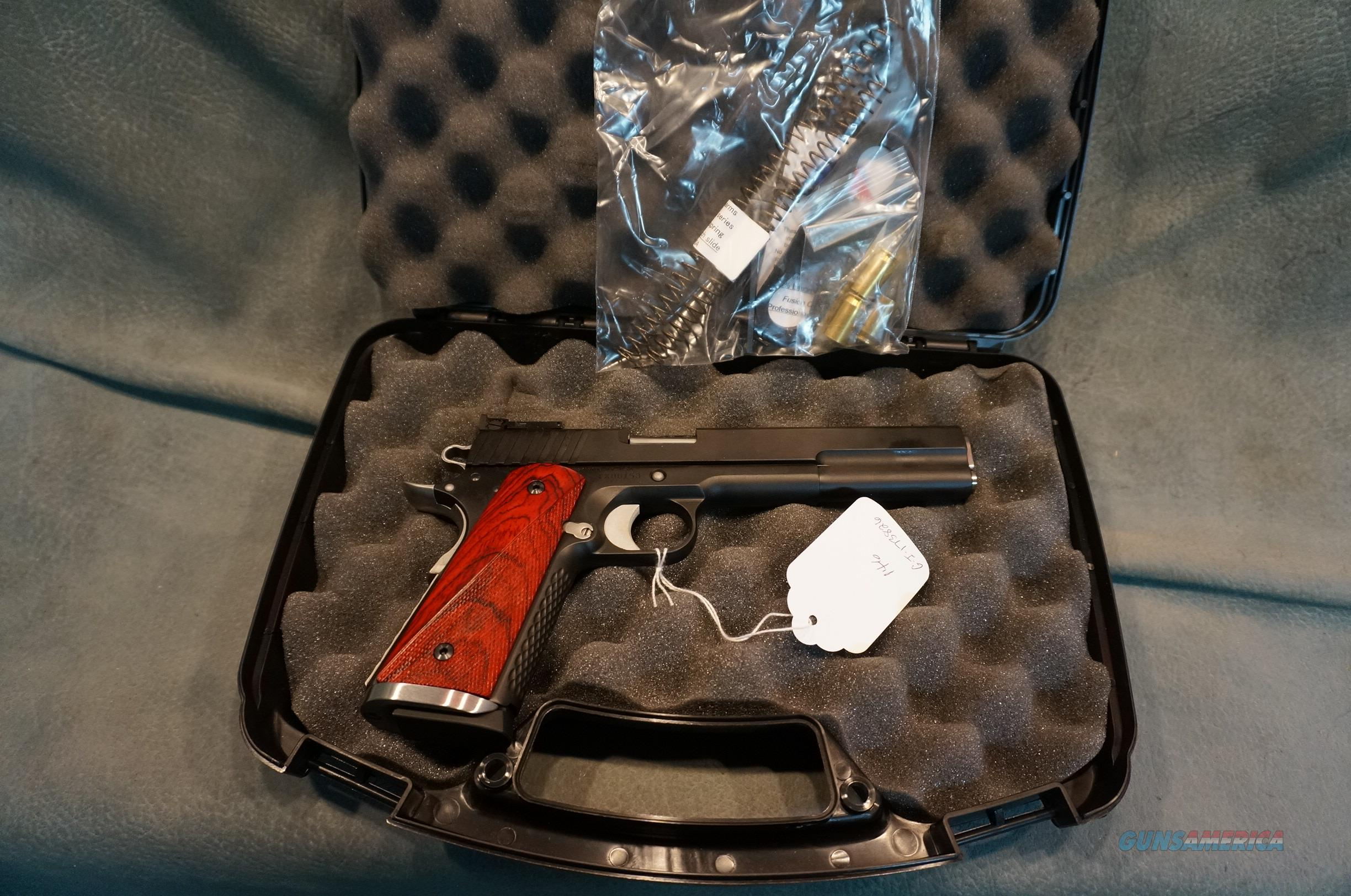 Fusion Firearms 1911 Long Slide 45ACP NIP DISCOUNTED!!  Guns > Pistols > Custom Pistols > 1911 Family
