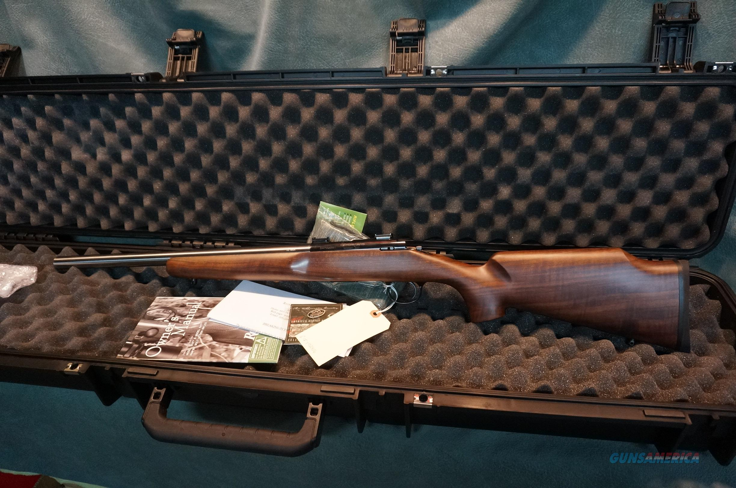 Remington Custom Shop 547-T 22Mag Deluxe Wood NIB  Guns > Rifles > Remington Rifles - Modern > .22 Rimfire Models