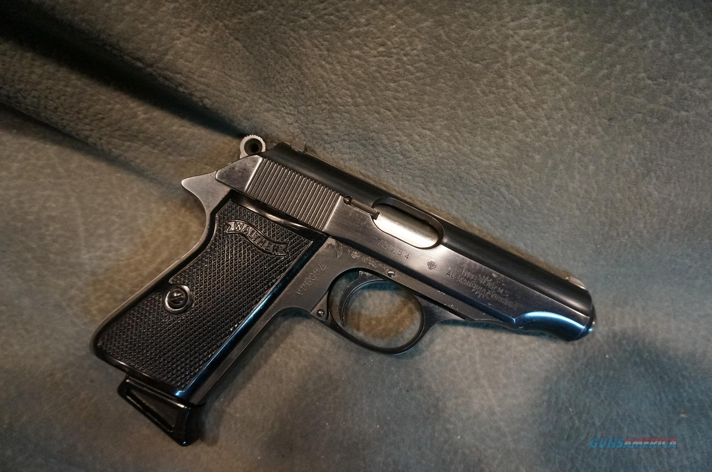 Walther PP 380ACP   Guns > Pistols > Walther Pistols > Post WWII > PPS
