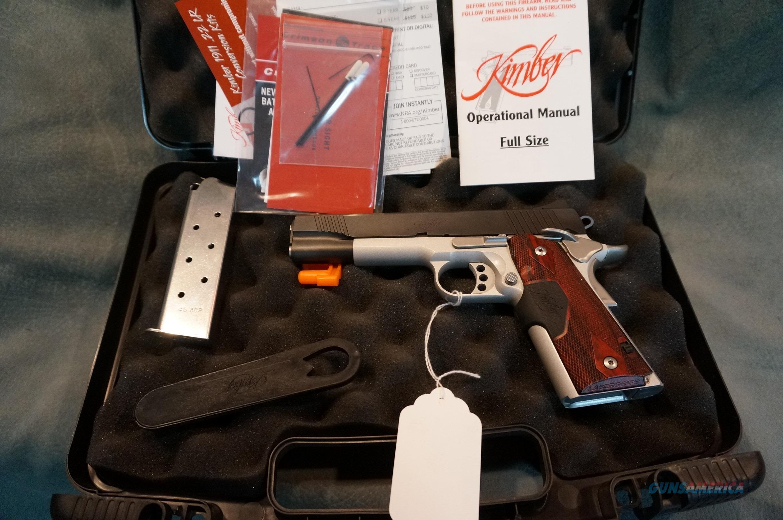 Kimber Custom Crimson Carry II 45ACP w/box and papers  Guns > Pistols > Kimber of America Pistols > 1911