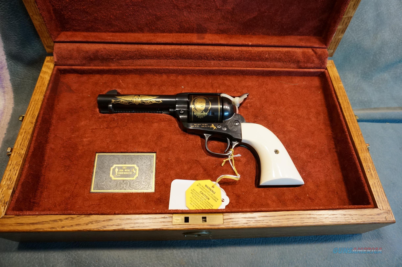 Colt John Wayne SAA 45Colt NIB  Guns > Pistols > Colt Single Action Revolvers - 3rd Gen.