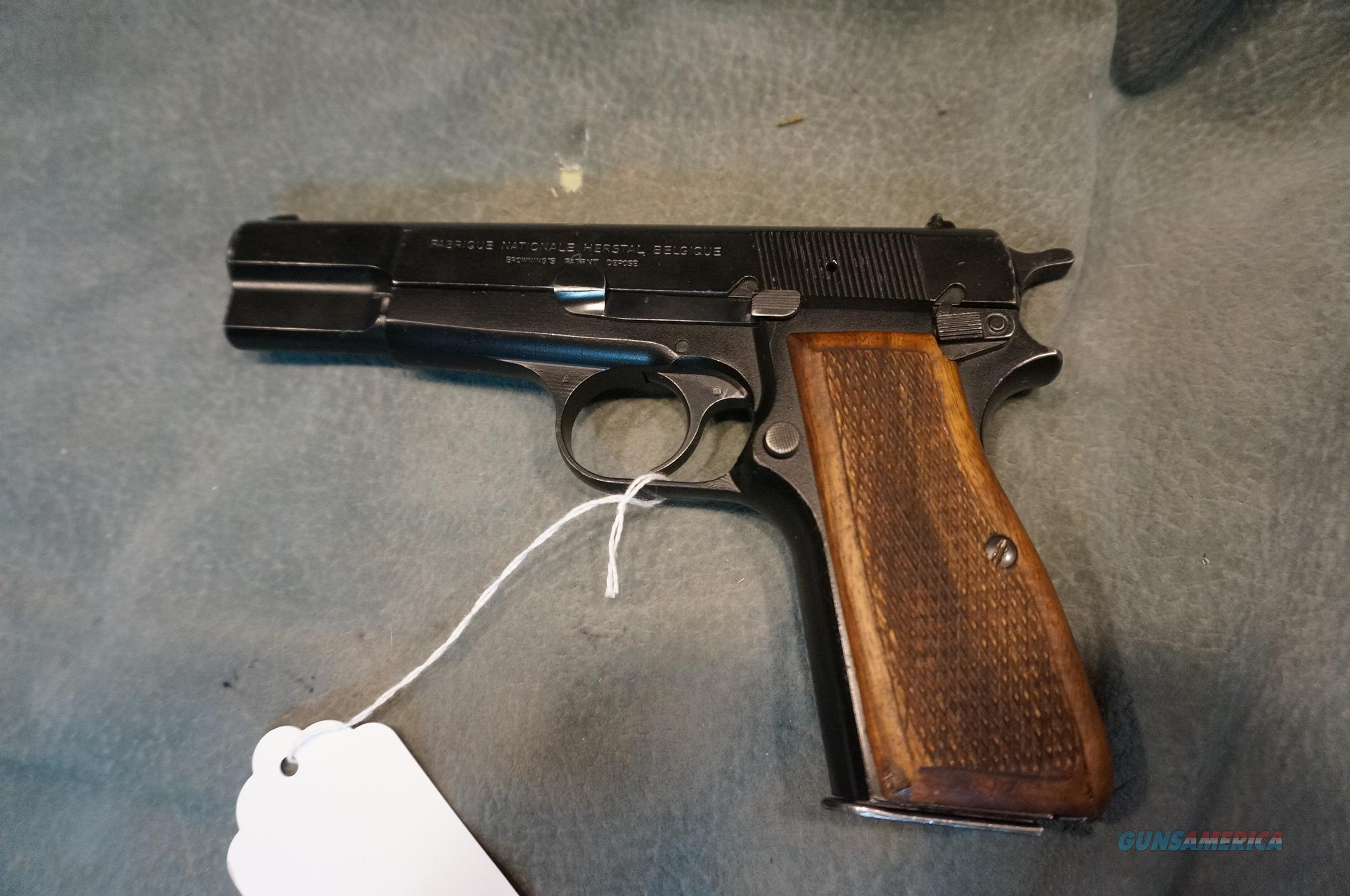 FN Hi Power Browning Patent 9mm  Guns > Pistols > FNH - Fabrique Nationale (FN) Pistols > High Power Type