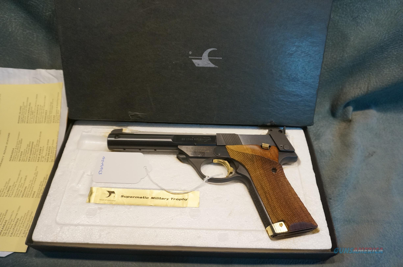 High Standard Supermatic Trophy 22LR LNIB  Guns > Pistols > High Standard Pistols