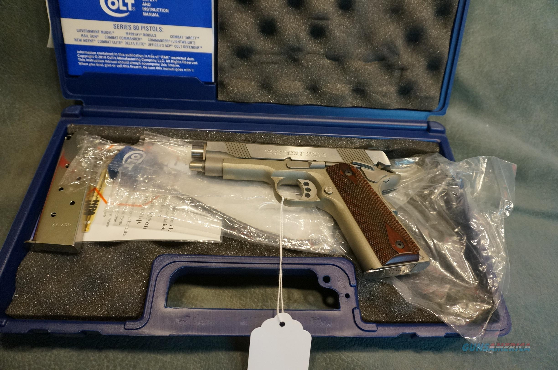 Colt Lightweight Commander 45ACP Nickel/Stainless NIB  Guns > Pistols > Colt Automatic Pistols (1911 & Var)
