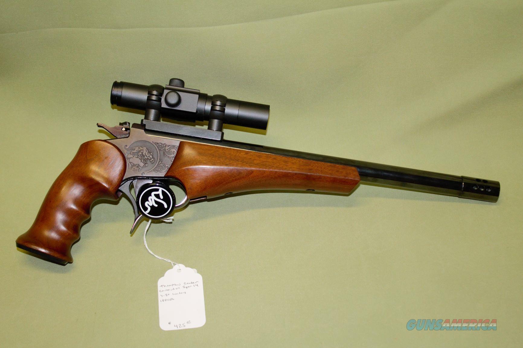 TC Contender Super 14 7-30 Waters  Guns > Pistols > Thompson Center Pistols > Contender