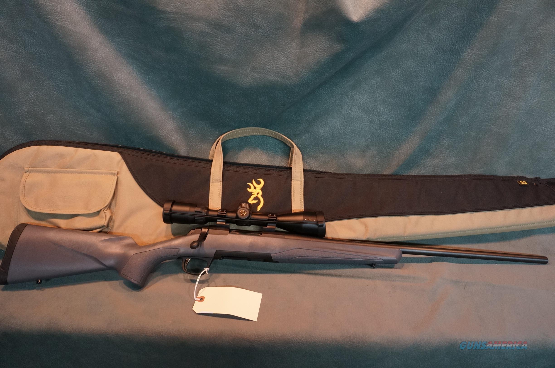 Browning X Bolt 308 w/Nikon scope  Guns > Rifles > Browning Rifles > Bolt Action > Hunting > Blue