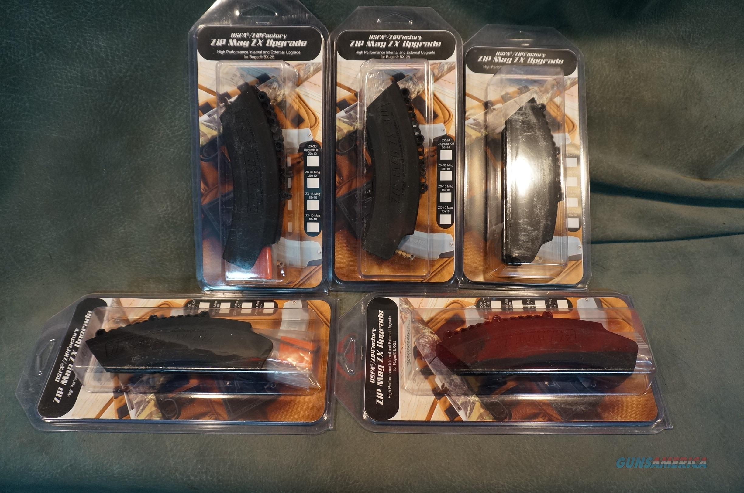 USFA ZX Upgrade kits for Ruger BX-25 magazines ON SALE!!  Non-Guns > Magazines & Clips > Rifle Magazines > 10/22
