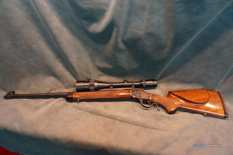 Winchester 1885 Custom 225Win single set trigger, NICE!  Guns > Rifles > Custom Rifles > Other