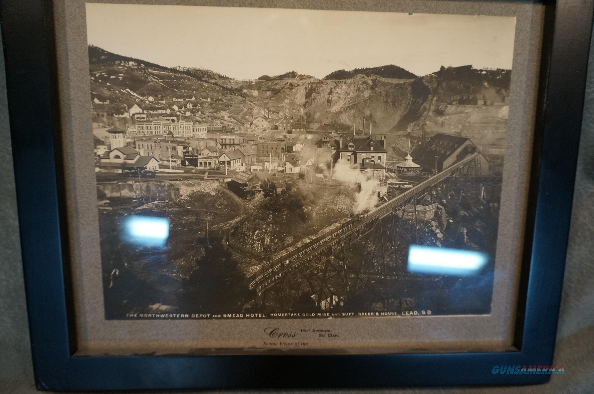 Original Antique photo of the Homestake Gold Mine  Non-Guns > Miscellaneous
