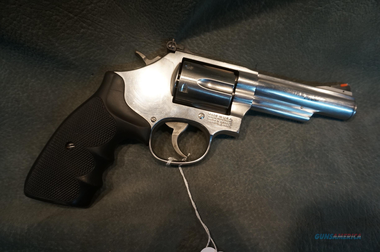 "S+W 66-7 357Mag 4""  Guns > Pistols > Smith & Wesson Revolvers > Med. Frame ( K/L )"