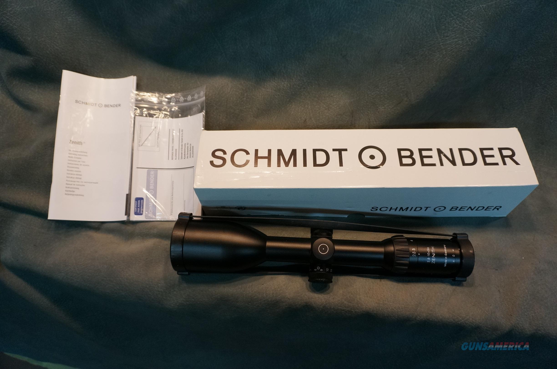 Schmidt and Bender 2.5-10x56 LM FD7 Zenith illuminated  Non-Guns > Scopes/Mounts/Rings & Optics > Rifle Scopes > Variable Focal Length