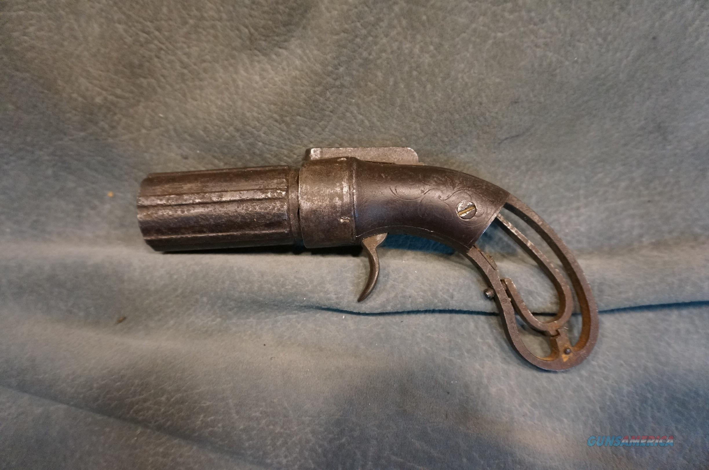 Antique Pepperbox from the  Old West,Crazy Horse Trail  Guns > Pistols > Antique (Pre-1899) Pistols - Perc. Misc.
