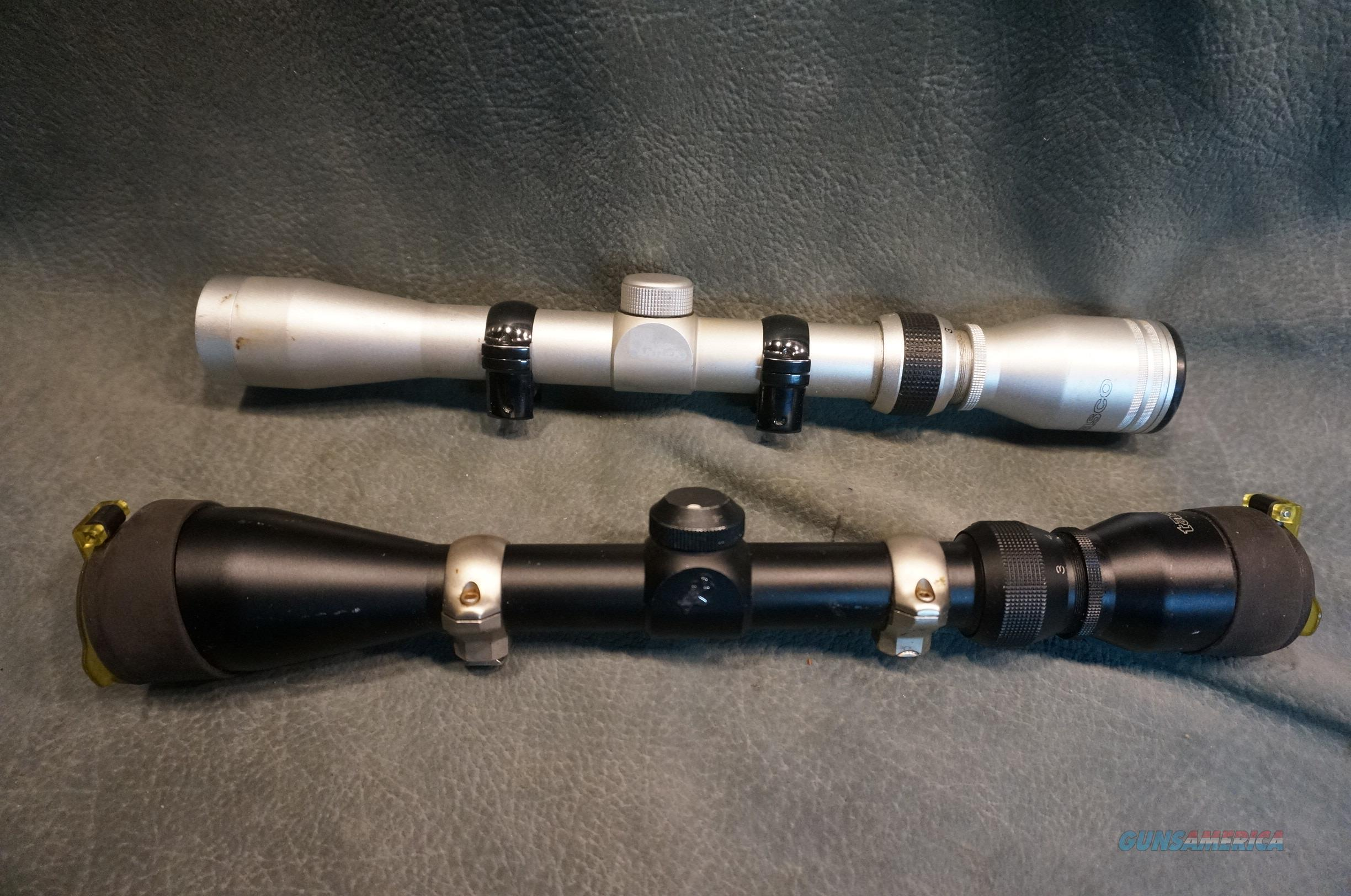 2 Scopes with rings  Non-Guns > Scopes/Mounts/Rings & Optics > Rifle Scopes > Variable Focal Length