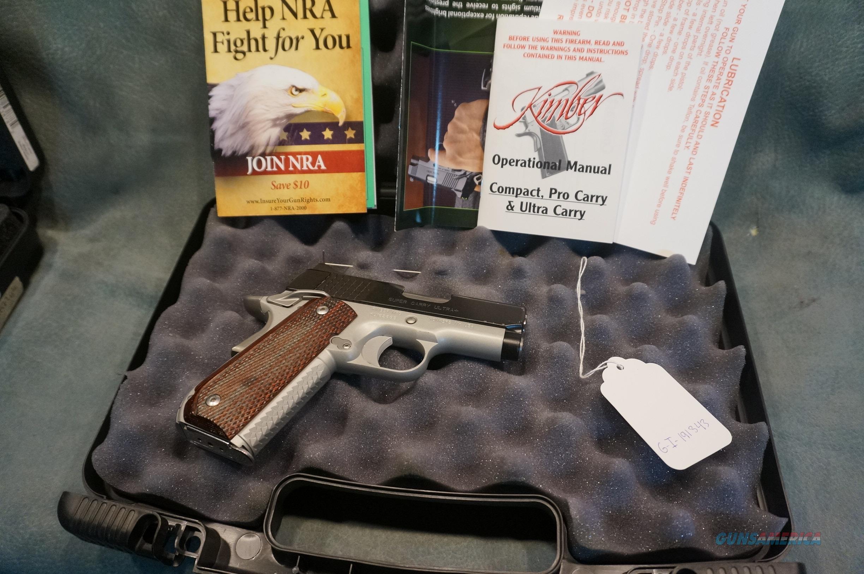 Kimber Super Carry Ultra + 45ACP  Guns > Pistols > Kimber of America Pistols > 1911