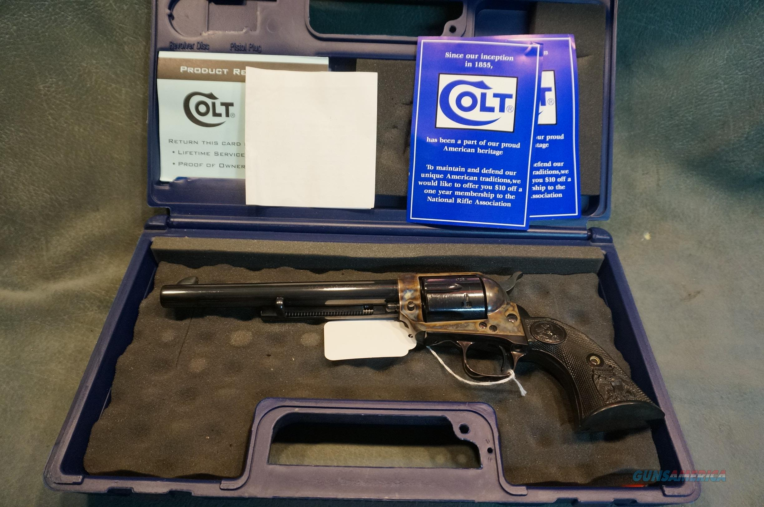 "Colt Single Action Army 45LC 7 1/2""   Guns > Pistols > Colt Single Action Revolvers - 3rd Gen."