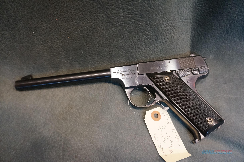 "Hi Standard Model B 22LR 6 3/4""  Guns > Pistols > High Standard Pistols"