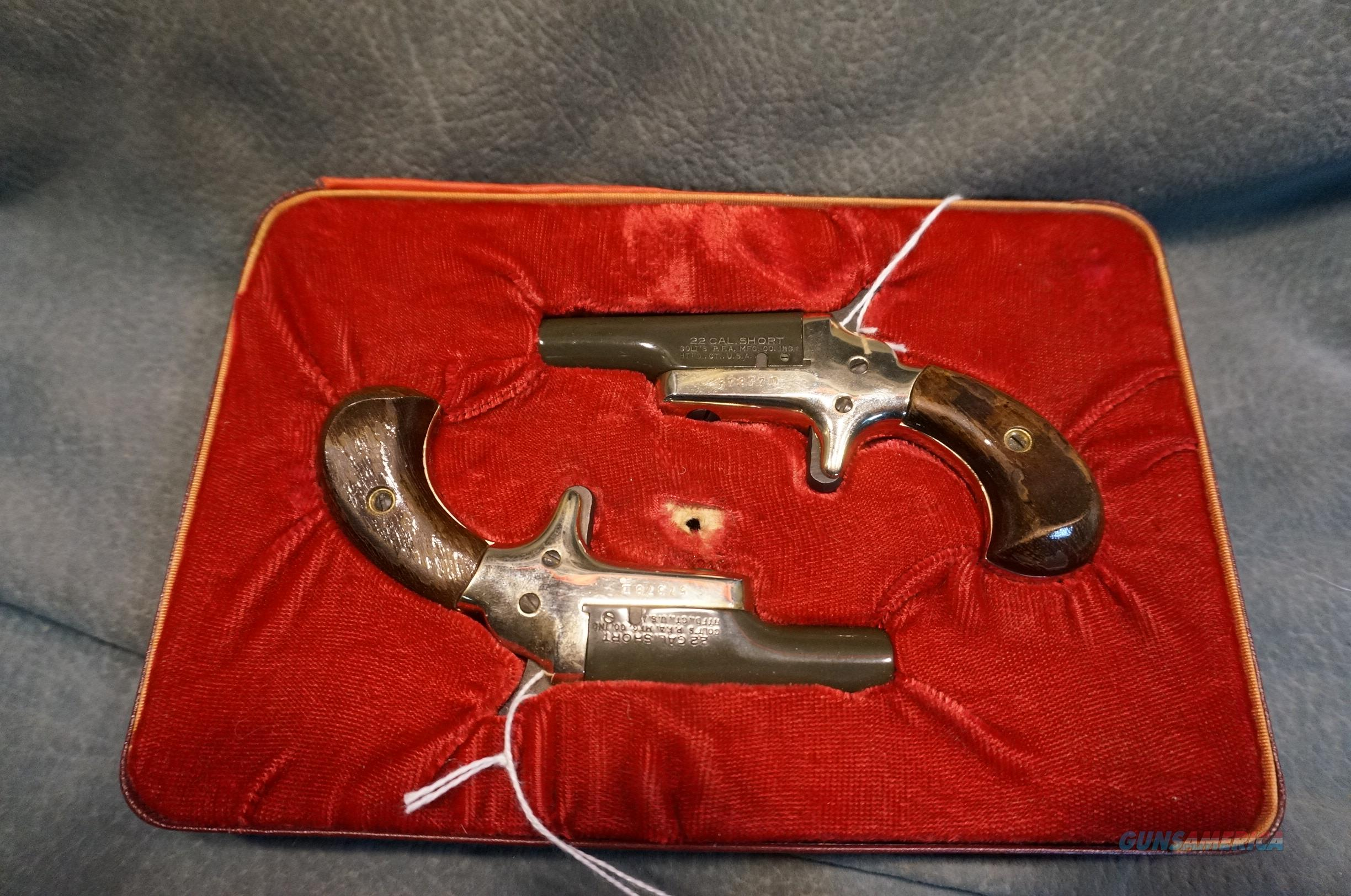 Colt Derringers 22LR Consecutive numbered pair  Guns > Pistols > Colt Single Action Revolvers - Modern (22 Cal.)
