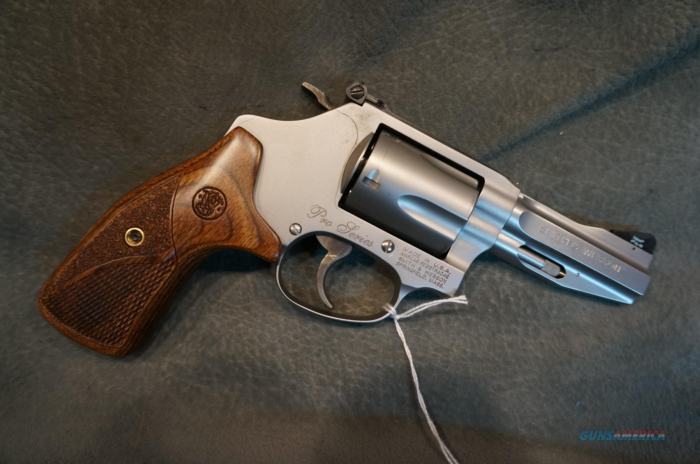 S+W Model 60-15 Pro Series 357Mag   Guns > Pistols > Smith & Wesson Revolvers > Small Frame ( J )