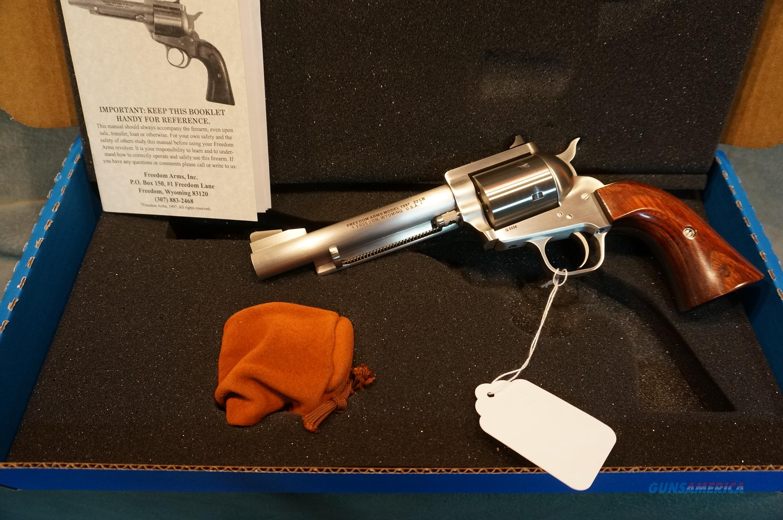"Freedom Arms 1997 Premier Grade 22LR/22Mag 5 1/2"" bbl NEW!  Guns > Pistols > Freedom Arms Pistols"