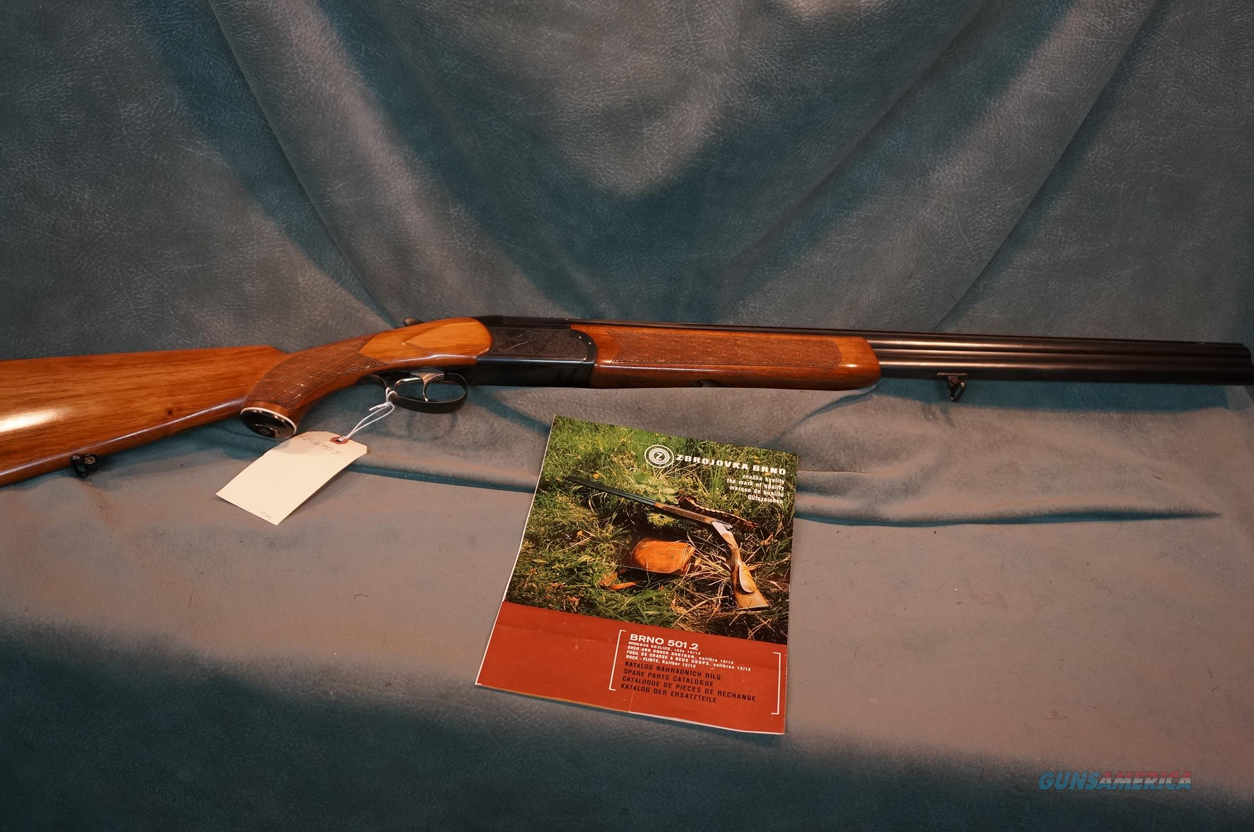 "Brno Model 501.2 12ga 2 3/4"" ON SALE!!  Guns > Shotguns > CZ Shotguns"