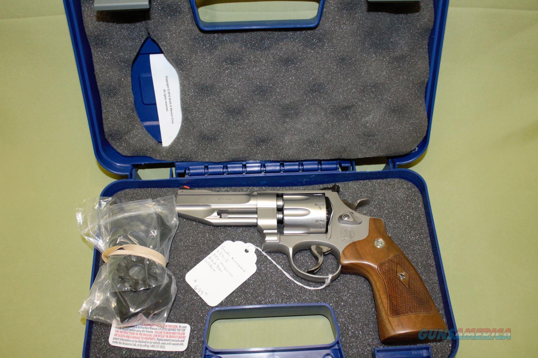 Smith&Wesson Pro Series 627-5 357 Magnum  Guns > Pistols > Smith & Wesson Revolvers > Full Frame Revolver
