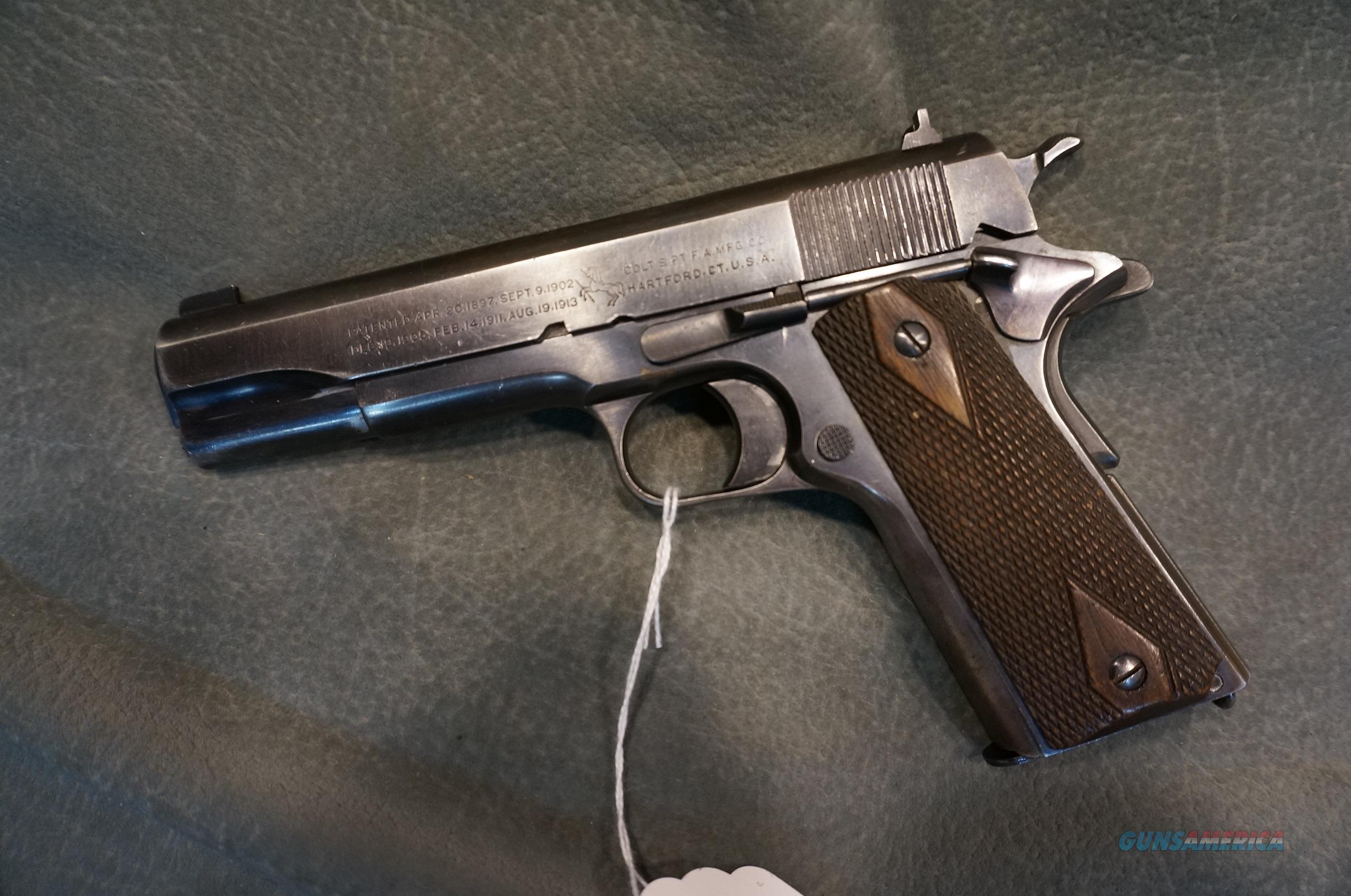 Colt 1911 45ACP made in 1919  Guns > Pistols > Colt Automatic Pistols (1911 & Var)