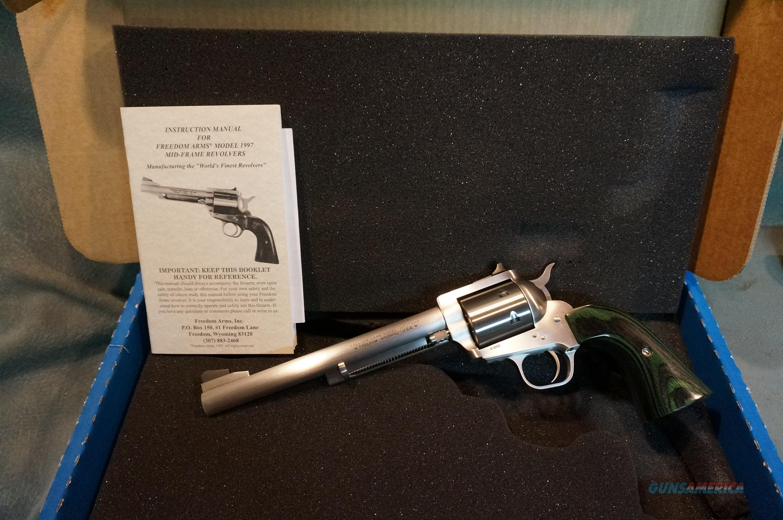 Freedom Arms 1997 17HMR NIB  Guns > Pistols > Freedom Arms Pistols