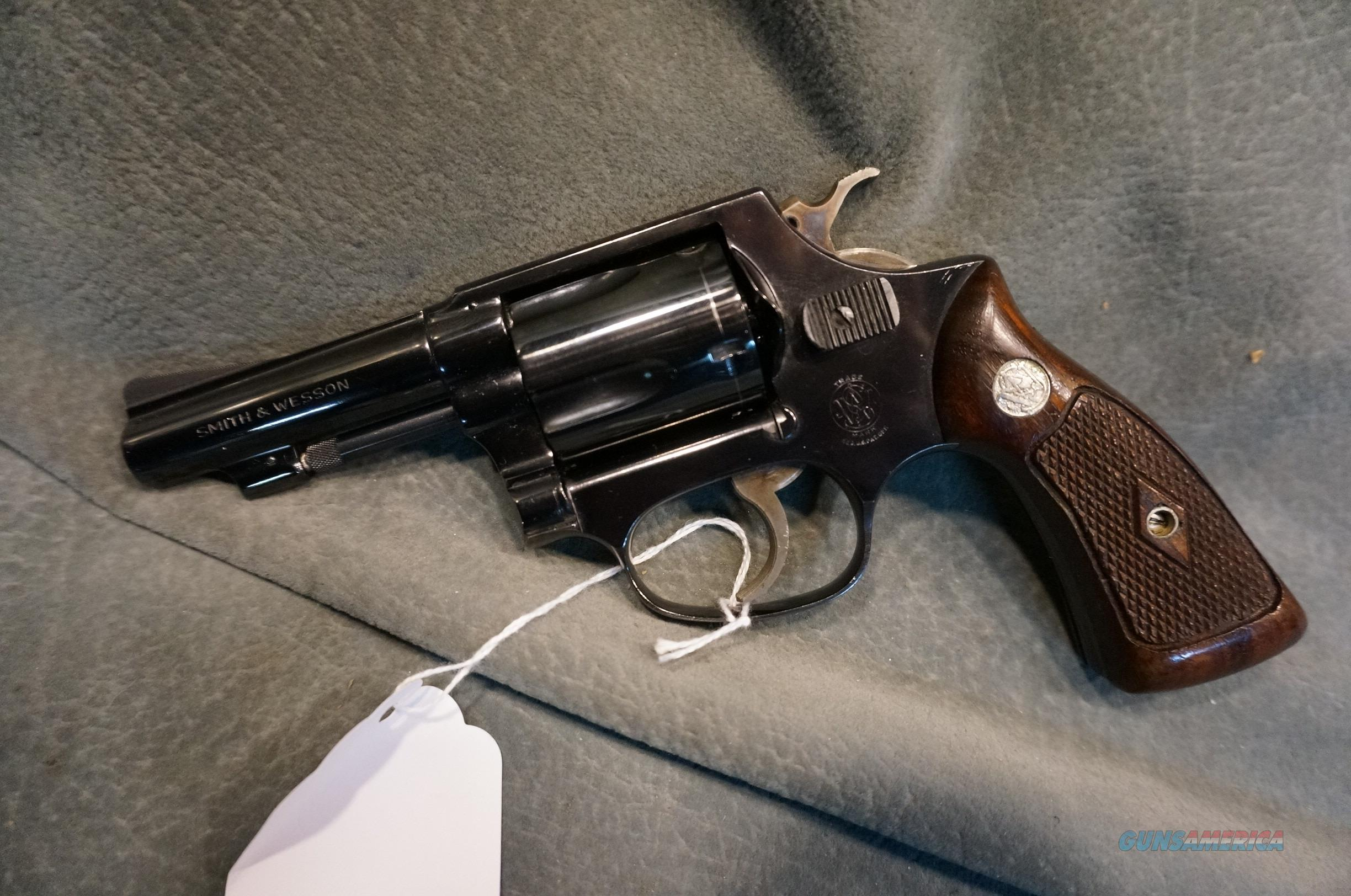 "S+W Model 36 38Sp 3"" Early Model Flat Latch  Guns > Pistols > Smith & Wesson Revolvers > Small Frame ( J )"