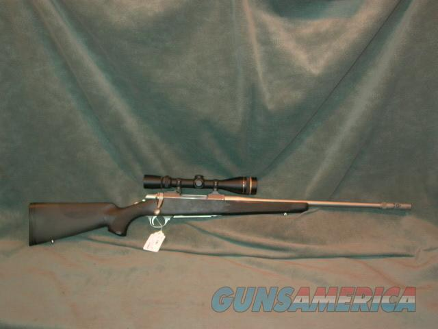 Browning Stainless Stalker 30-06 with Leupold 4.5-14x  Guns > Rifles > Browning Rifles > Bolt Action > Hunting > Stainless