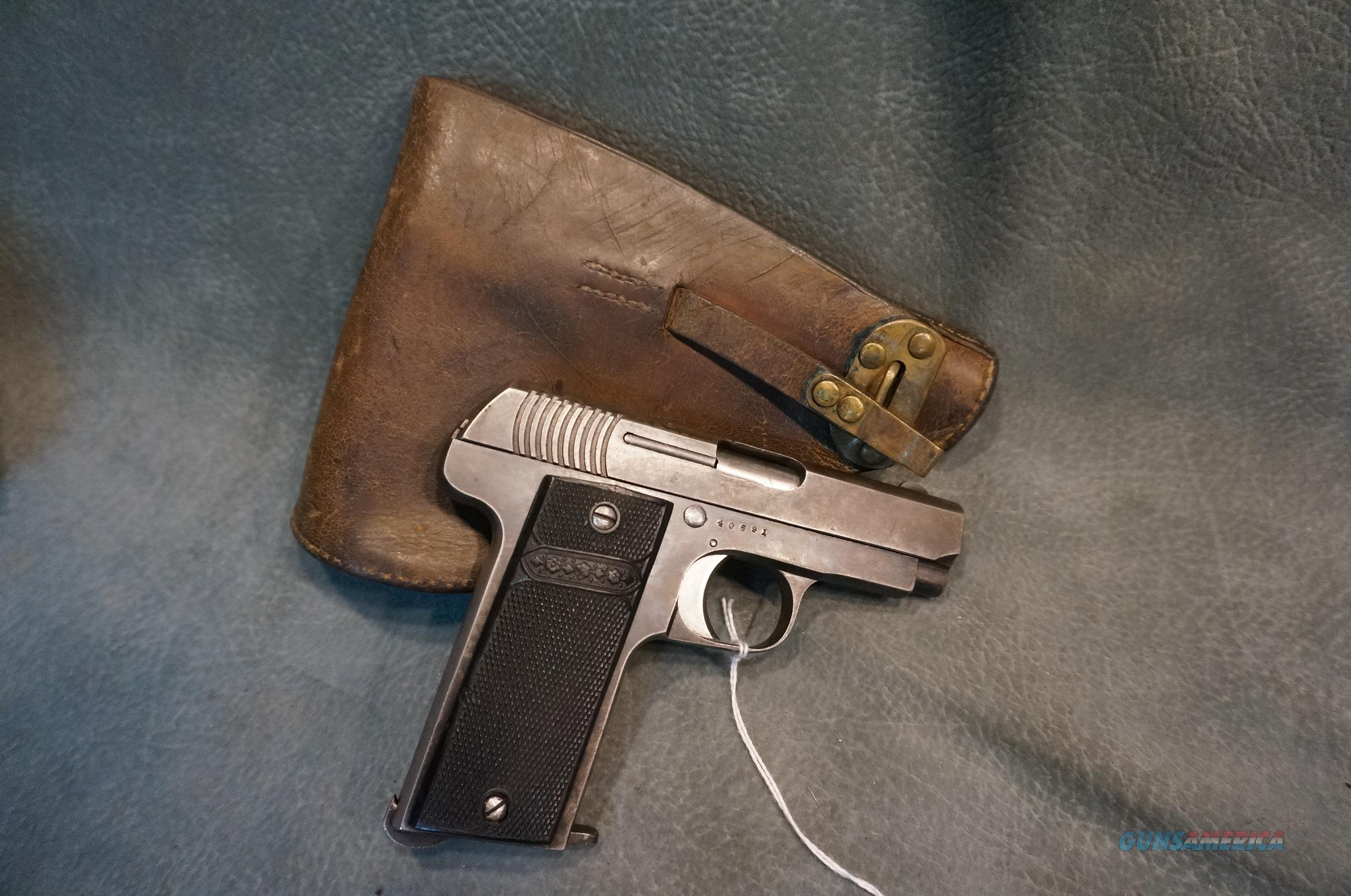 French WW1 Ruby Republic with holster 32ACP  Guns > Pistols > Military Misc. Pistols Non-US