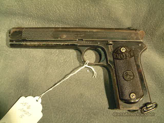 Colt 1902 Military 38ACP  Guns > Pistols > Military Misc. Pistols US > Other
