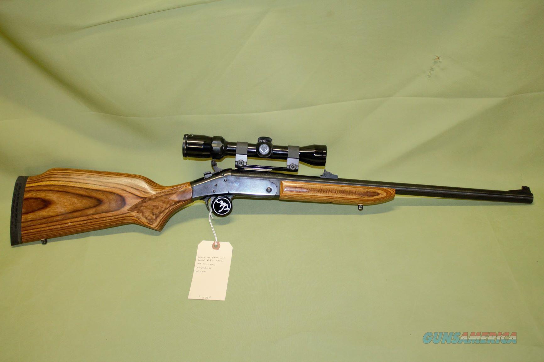 Harrington & Richardson SB2 44 Magnum  Guns > Rifles > Harrington & Richardson Rifles