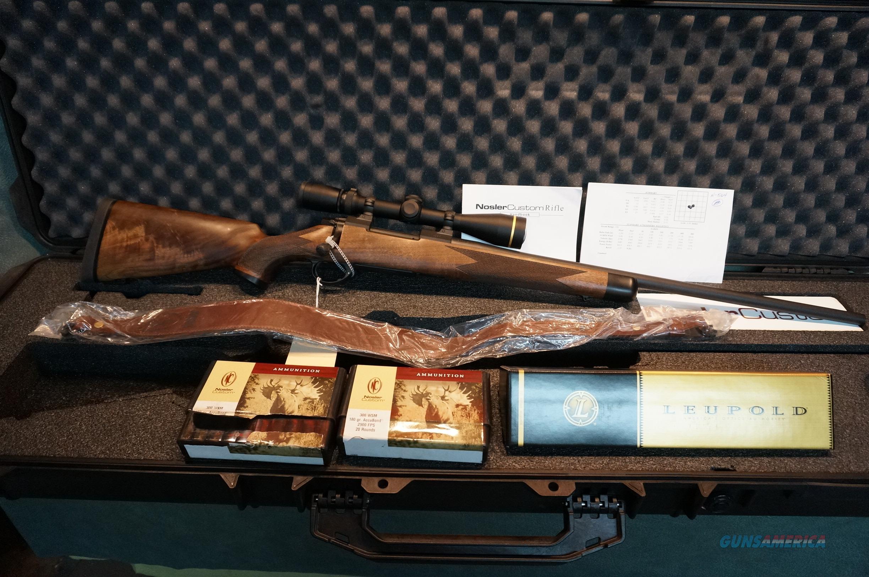 Nosler Custom Limited Edition 300WSM New in the Case #346-500  Guns > Rifles > Custom Rifles > Bolt Action