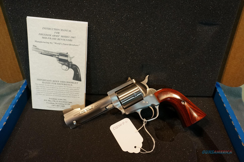 "Freedom Arms Model 1997 44Sp 4 1/4"" NIB  Guns > Pistols > Freedom Arms Pistols"