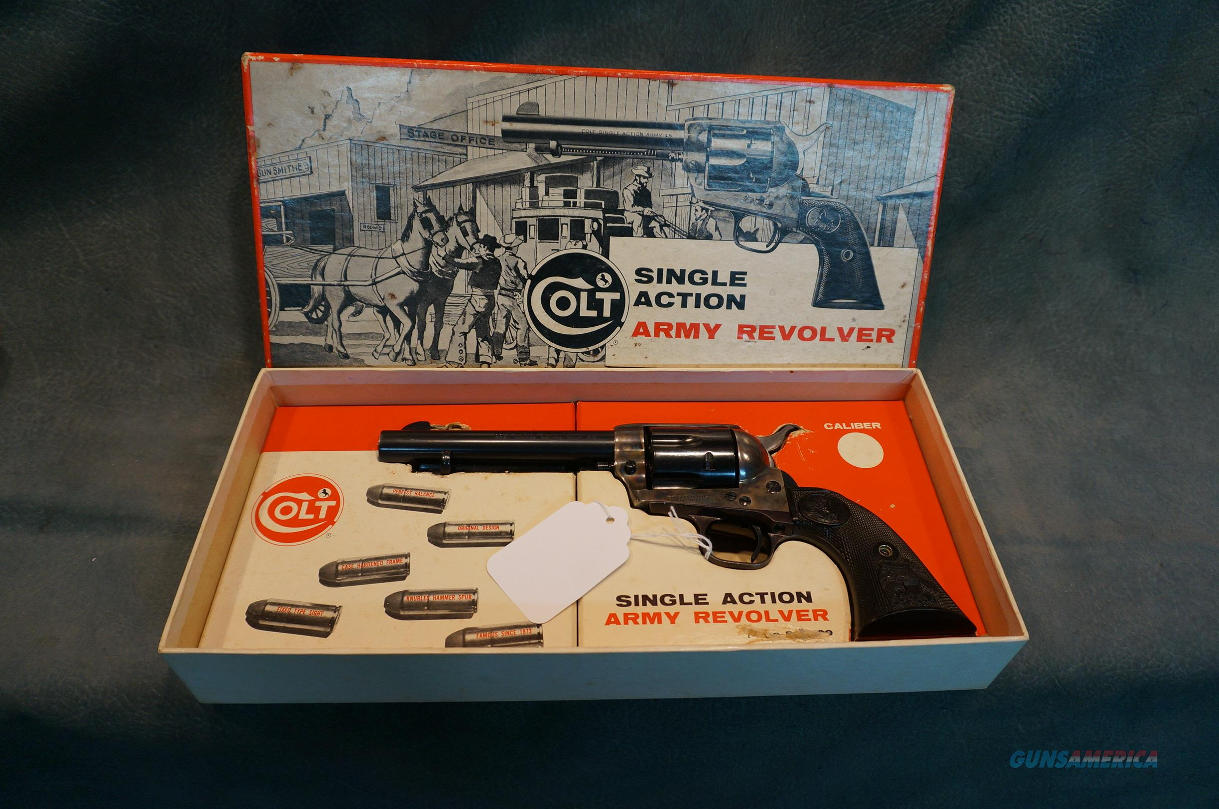 "Colt SAA 2nd Generation 45LC 5 1/2""   Guns > Pistols > Colt Single Action Revolvers - 2nd Gen."