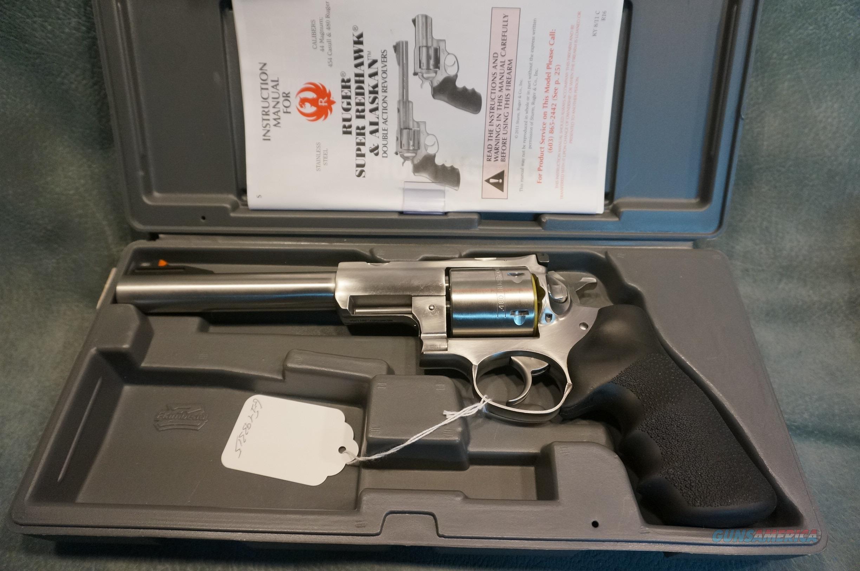 "Ruger Super Redhawk 480 Ruger 7 1/2"" bbl ANIB  Guns > Pistols > Ruger Double Action Revolver > Redhawk Type"