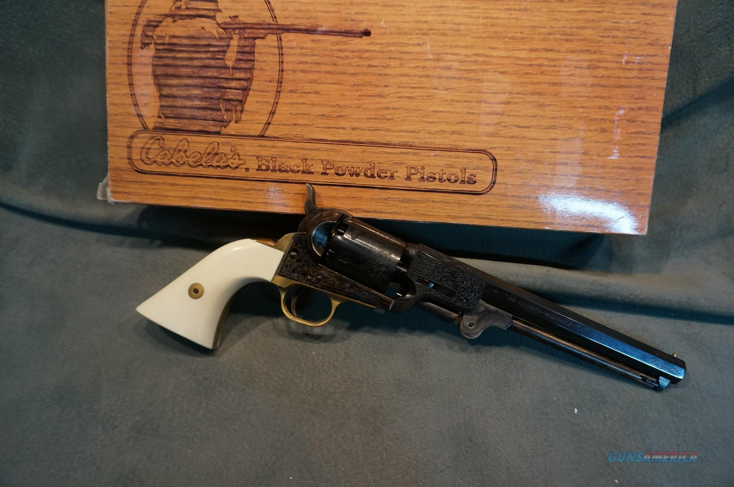 Engraved 1851 Navy Pieta Cabelas  Non-Guns > Black Powder Muzzleloading