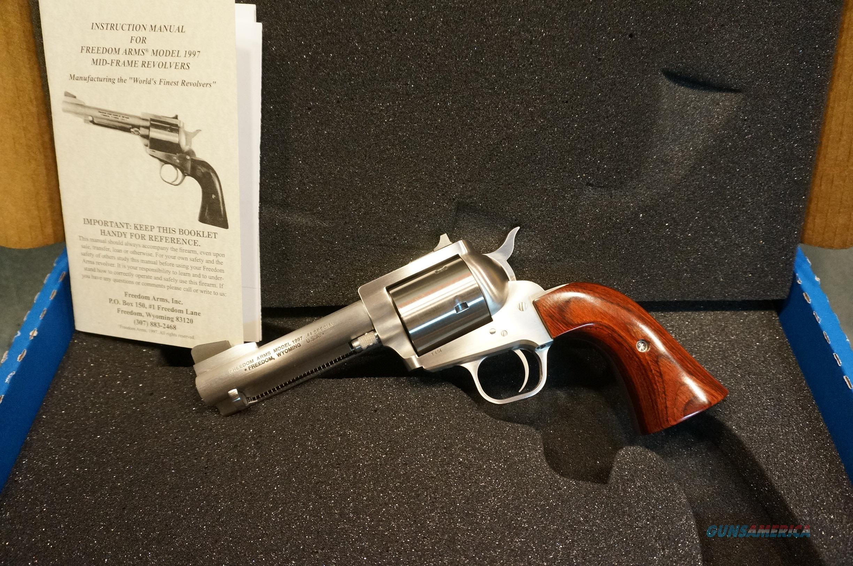 "Freedom Arms Model 97 Premier Grade 44Sp 4 1/4"" NIB  Guns > Pistols > Freedom Arms Pistols"