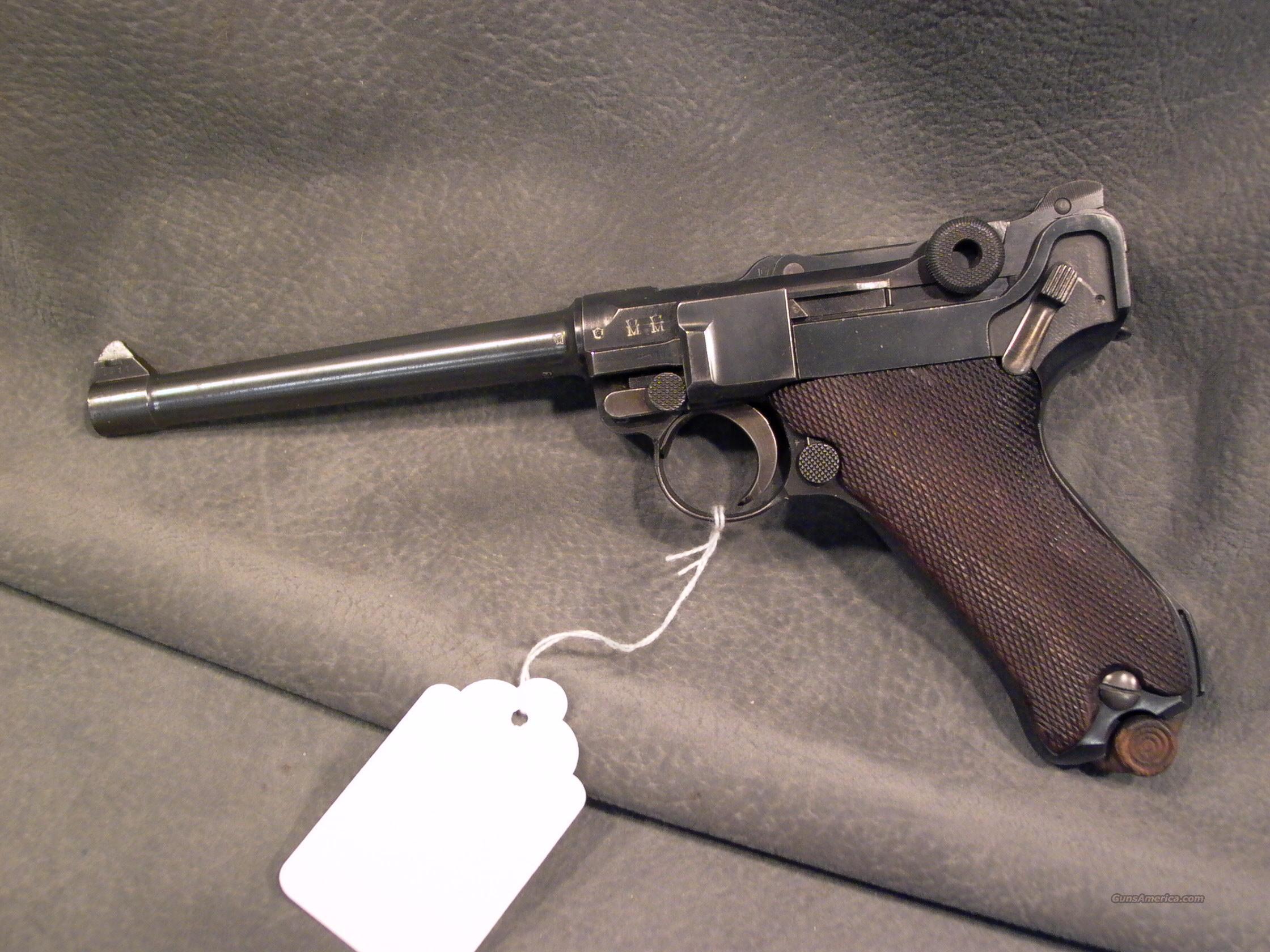 Dwm 1917 Navy Luger 9mm For Sale