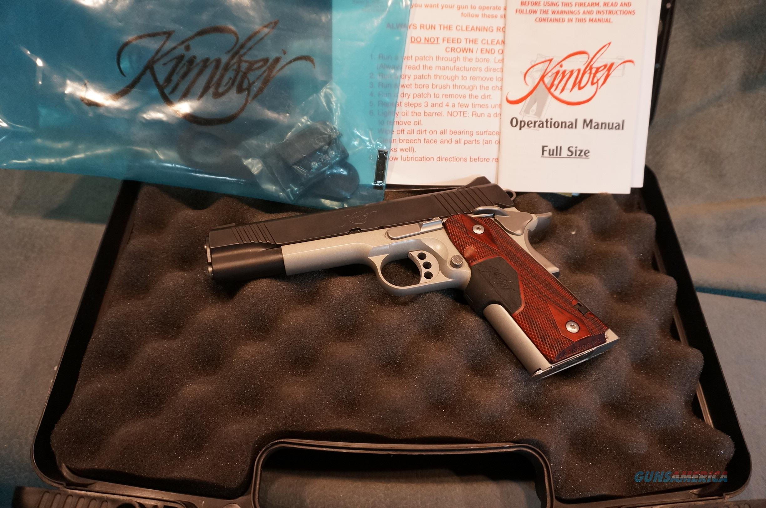 Kimber 1911 Custom Crimson Carry 45ACP Guns > Pistols >  Kimber of America Pistols > 1911