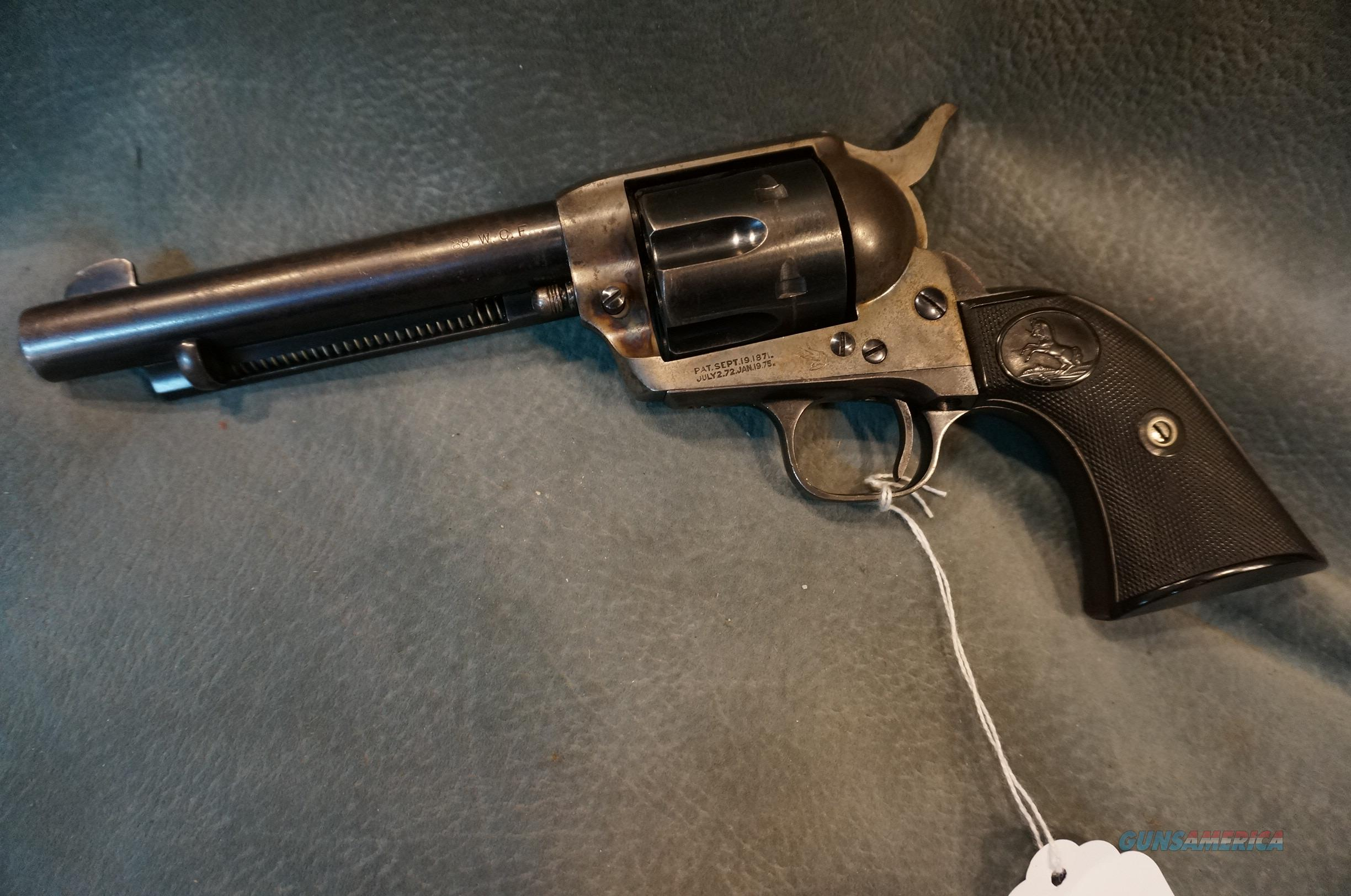 "Colt SAA 38-40 5 1/2""  Guns > Pistols > Colt Single Action Revolvers - 1st Gen."
