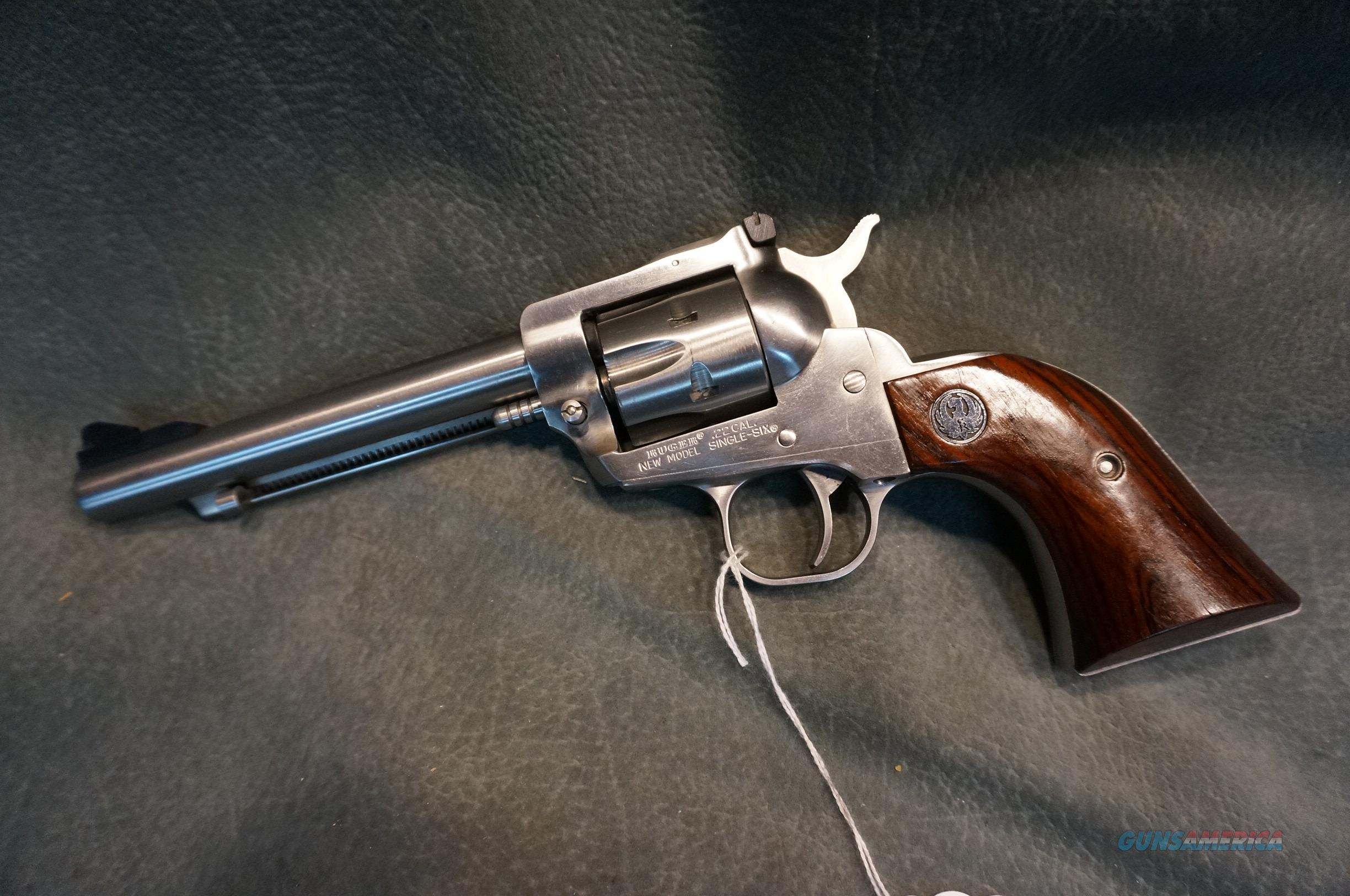 """Ruger Super Single Six 22LR 5 1/2"""" stainless STAR model  Guns > Pistols > Ruger Single Action Revolvers > Single Six Type"""