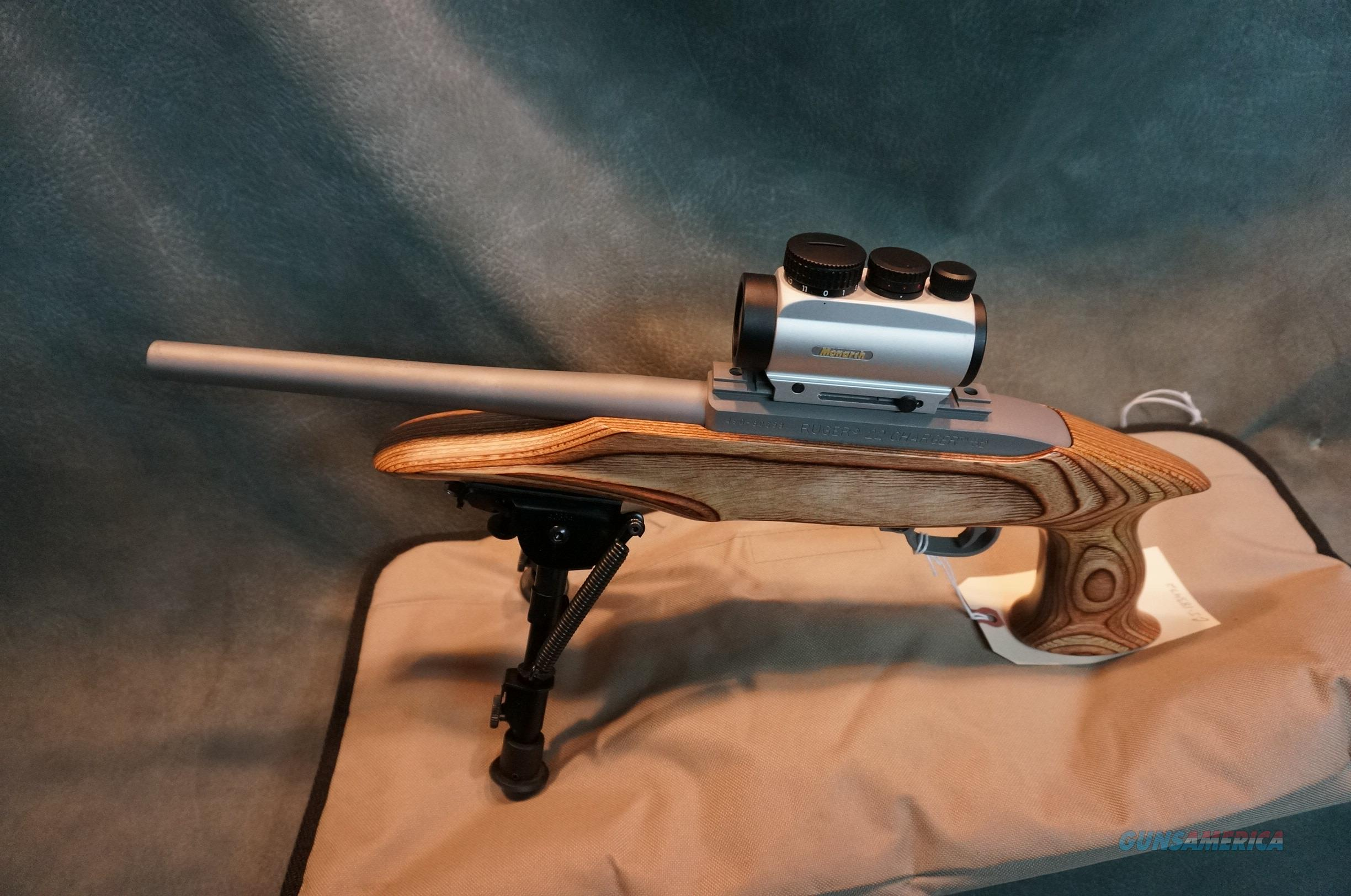 Ruger 22LR Charger w/Nikon Red Dot  Guns > Pistols > Ruger Semi-Auto Pistols > Charger Series