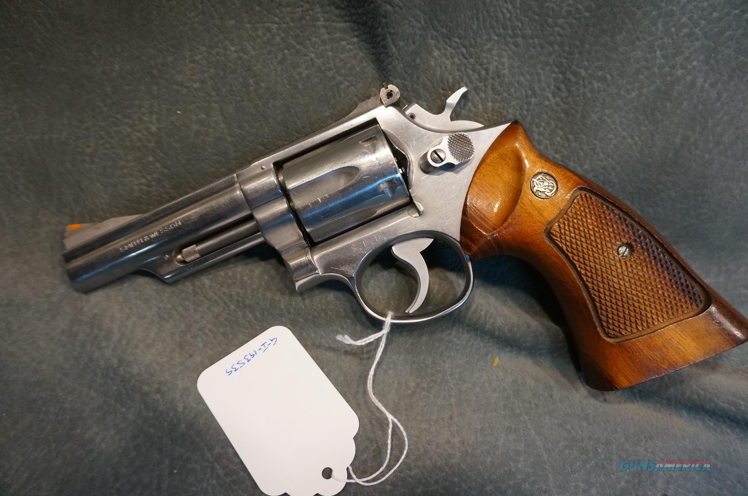S+W Model 66 no dash 357Mag Seattle Police Dept?  Guns > Pistols > Smith & Wesson Revolvers > Med. Frame ( K/L )