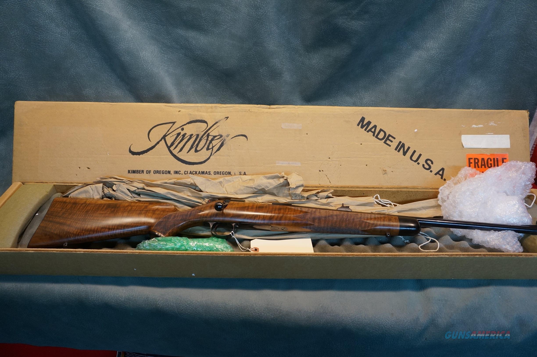 Kimber of Oregon Model 84 S Series 223 upgraded NIB  Guns > Rifles > Kimber of Oregon Rifles