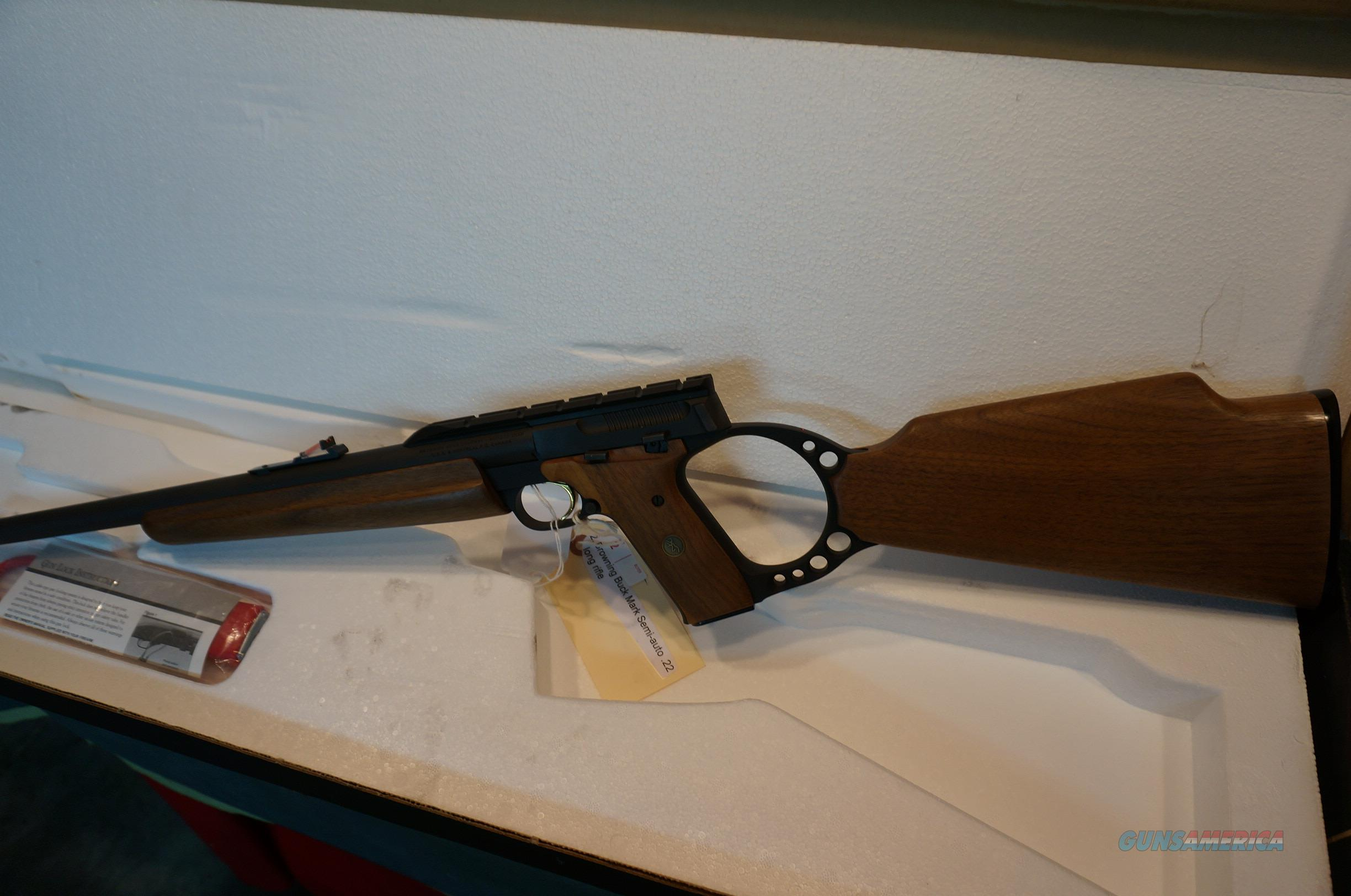 Browning Buckmark Sporter Rifle 22LR ANIB  Guns > Rifles > Browning Rifles > Semi Auto > Hunting